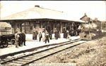 Postcard of Annapolis Royal station