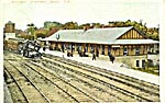 Postcard of Digby Station 1908