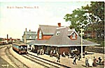 Postcard of Windsor Station