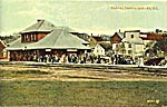 Postcard of Wolfville station