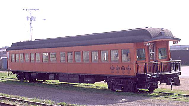 """The """"Alexandra"""" in the station yard at Amherst 13 September 1989."""