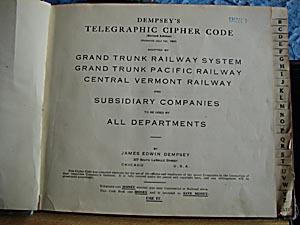 Cipher code manual